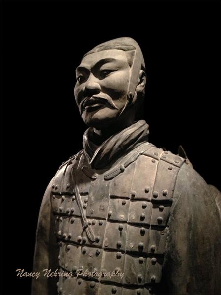 Chinese terra cotta cavalryman